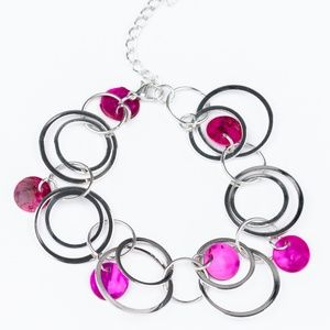 Total SHELL-Out - Pink Bracelet